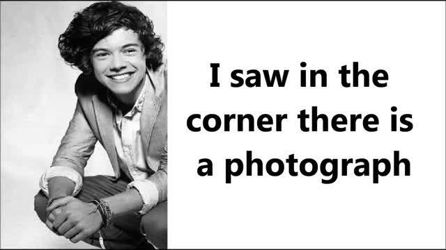 Don´t Let Me Go- Harry Styles (Lyrics