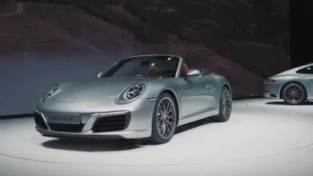Porsche at the IAA 2015 – Porsche 911. New features