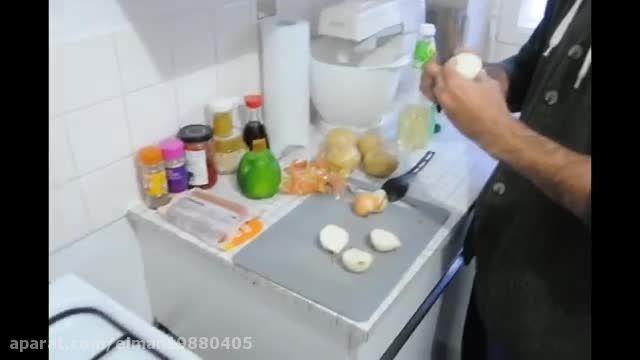 آموزش درست کردن سوسیس بندری