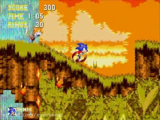 بازی های Sonic the Hedgehog 1 , 2 , 3