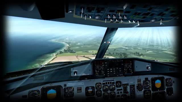 لذت پرواز با هواپیمای ATR-72 ، حراجی شبیه ساز پرواز