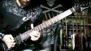 کاور Joe Satriani - Up in the Sky (جو ستریانی)