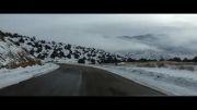 جاده زیبای توسکستان زمستان