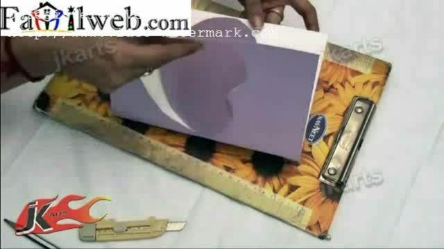 طرز ساخت جعبه هدیه شکلات1