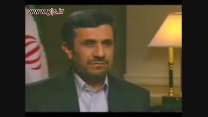 جواب دندان شکن احمدی نژاد