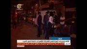 درگیری بین پلیس و معترضان به سیاست های ترکیه در کوبانی