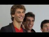 وقتی بازیکنان تیم ملی اسپانیا میخواهند تبلیغات ضبط کنند !! !