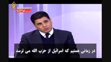 دفاع جانانه یک سنی از سید حسن نصرالله در تلویزیون