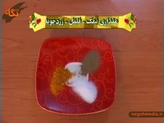 آموزش پخت کلم پلو شیرازی
