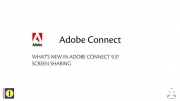 What's New in Adobe Connect 9.3 - Screen Sharing