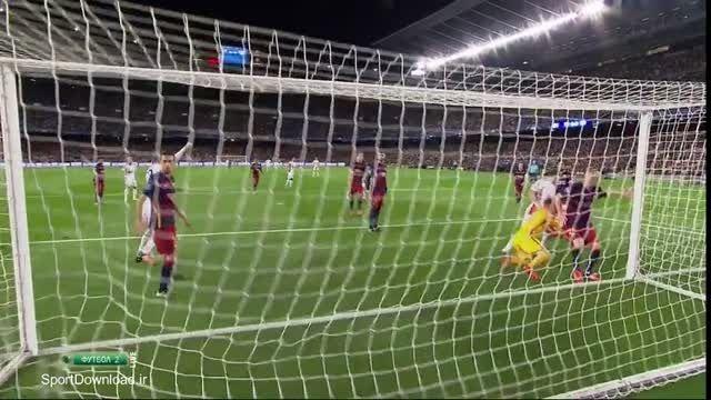 خلاصه بازی بارسلونا 2-1 بایرلورکوزن لیگ قهرمانان اروپا