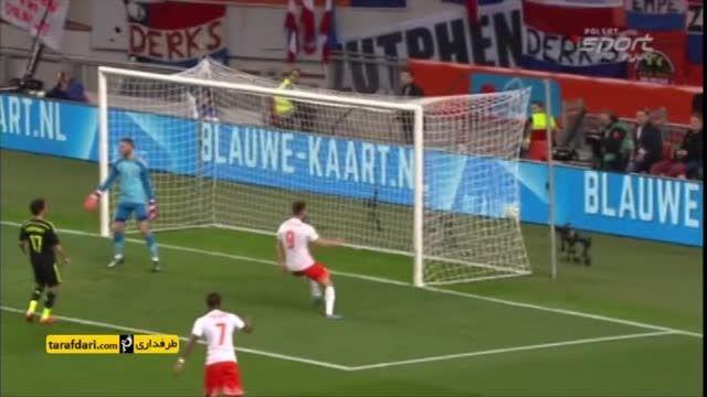خلاصه بازی هلند 2-0 اسپانیا