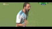 آرژانتین - بلژیک(گلها)، یک چهارم نهایی جام جهانی