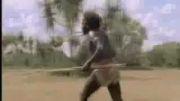 شکار وحشیانه بوفالو توسط انسان نماها