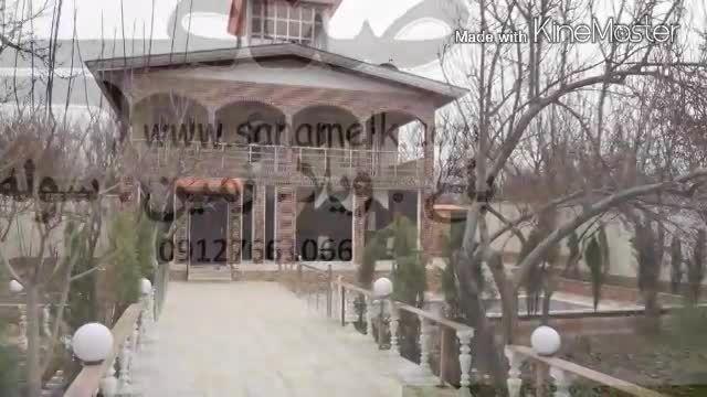 باغ ویلا در ملارد فوق لوکس کد379