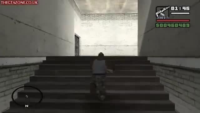 آخرین مرحله بازی جی تی ای سان اندرس GTA san andreas HD