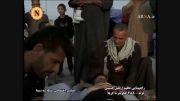 ماساژ زائران کربلای معلا در پیاده روی اربعین حسینی(ع)