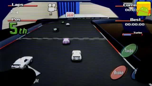 گیم پلی بازی اندرویدی Tiny Little Racing 2