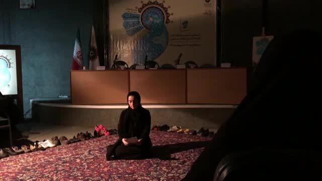 سهیلا گلستانی، پنجشنبه فیروزه ای سارا عرفانی را میخواند