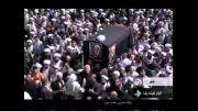 مراسم تشییع پیکر آیت الله ملکوتی در خبر 21 سیما