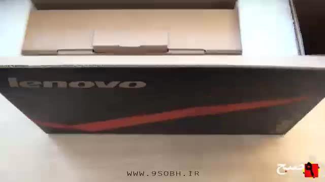 جعبه گشایی تبلت Lenovo ThinkPad Tablet 2