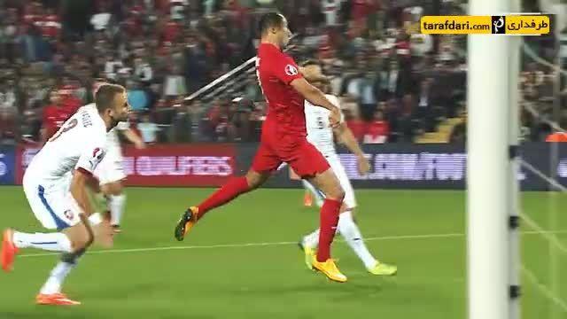 5 گل برتر تیم ملی ترکیه در مسابقات مقدماتی یورو 2016