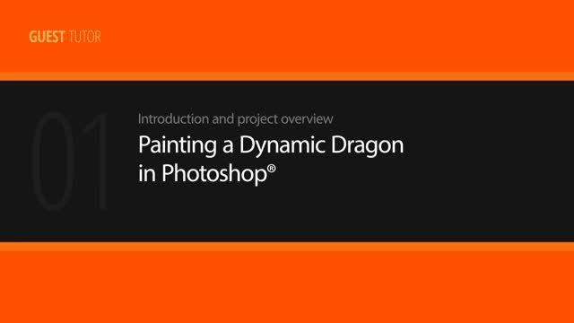 Digital Tutors - Painting a Dynamic Dragon in Photoshop