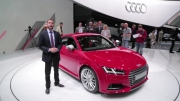 معرفی آئودی TT در ژنو - 2015 Audi TT
