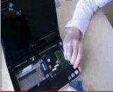 آموزش تعمیرات کامپیوتر لپ تاپ بازکردن مینی لپ تاپ دل dell