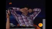 سوتی خنده دار علی ضیاء در برنامه  زنده!!