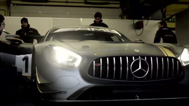 تیزر رسمی - مرسدس بنز AMG GT3