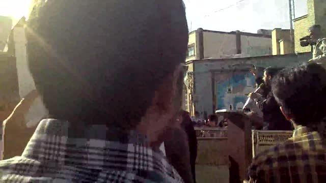 تجمع دانشجویان در نزدیکی سفارت عربستان part4