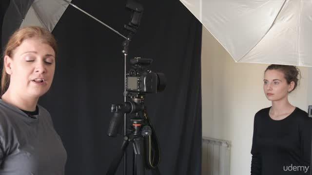 آموزش عکاسی پرتره با دو فلاش  Speedlight