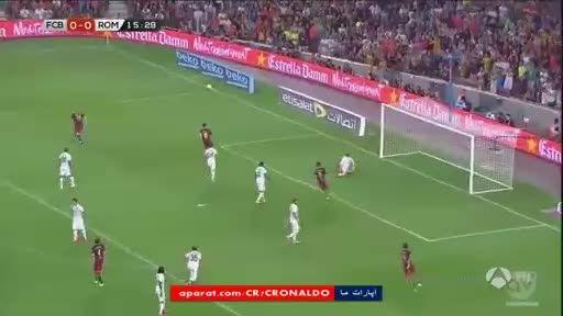 خلاصه بازی : بارسلونا 3 - 0 آ اس رم (دوستانه)