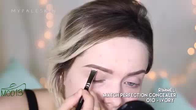 آموزش آرایش صورت و محو كردن جوش ها 2015