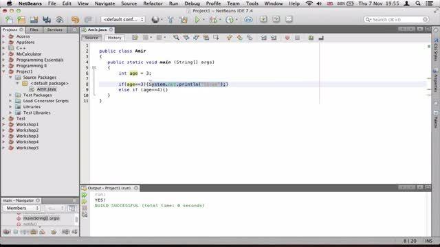 ۹- توضیح switch در جاوا Java