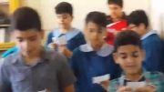 جشن روز معلم در کلاس ششم