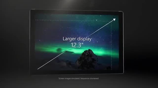 تبلیغات سرفیس پرو 4 (Surface pro 4)
