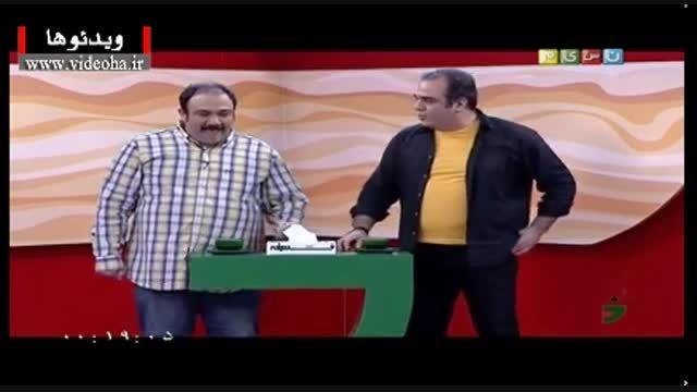 خاطرات خنده دار کودکی مهران غفوریان و برادرش در خندوانه