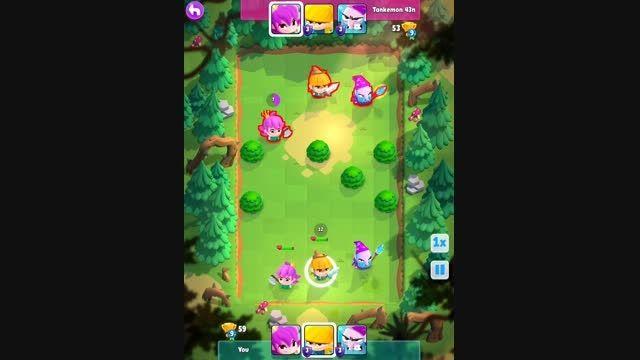 بازی جدید سوپرسل - smash land