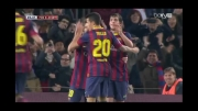 گل مسی به ختافه - بارسلونا 3 - ختافه 0