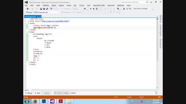 آموزش زبان HTML از مقدماتی تا HTML 5 - قسمت چهارم