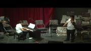 اهنگ زیبای نازنین مریم و پدر خونده...ویولون و پیانو-