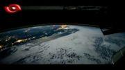 ویدیویی از کره ی زمین