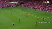 خلاصه و گل های بازی لیورپول 4 - 0 دورتموند
