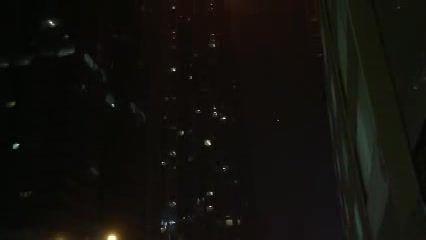 آتش سوزی مهیب یک آسمان خراش در دبی 2