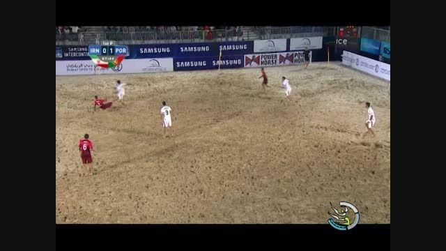 حواشی فوتبال ساحلی ایران 5-3 پرتغال