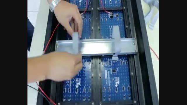 آموزش ساخت و نصب تابلو روان LED