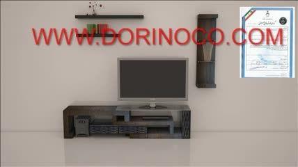 میز تلویزیون متحرک و پازلی مدل s2  شرکت درینو