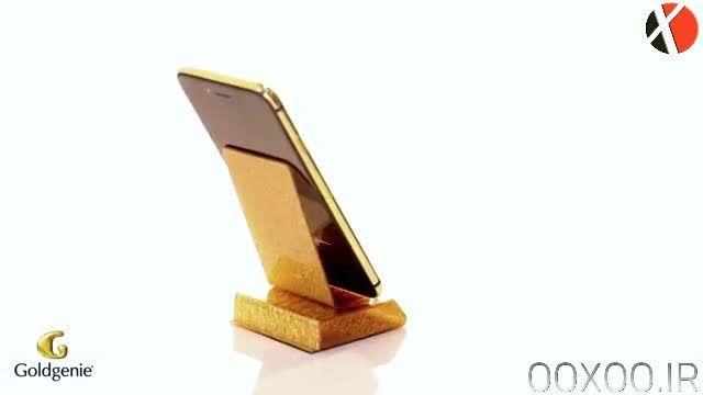 iPhone 6 Plus با بدنه طلای 24 عیار